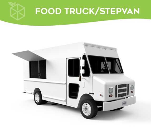 Step Van Food Truck