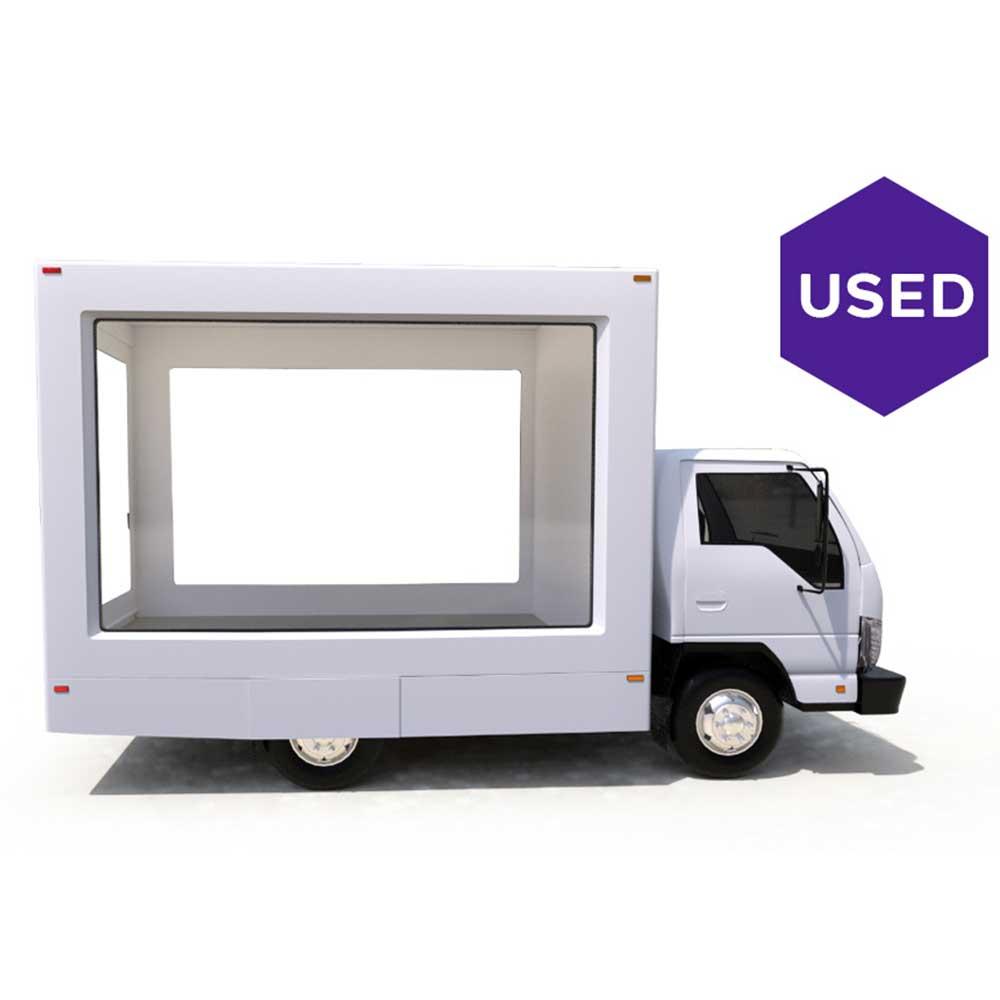 Lime-Media-Used-2006-Isuzu-12-ft-Glass-Truck-NQR