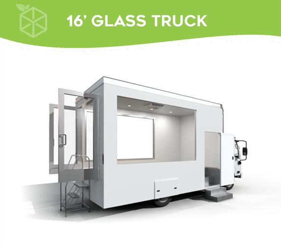 16' Glass Truck
